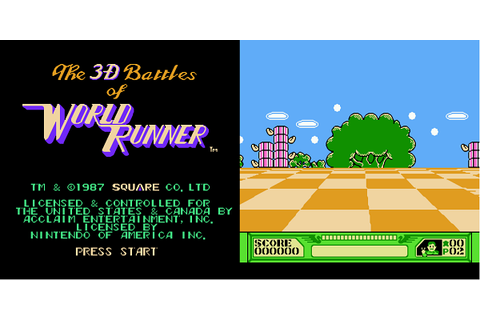 Retro Game of the Week 121: 3D World Runner (NES)